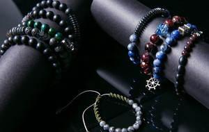 Stone + Metal Bracelets