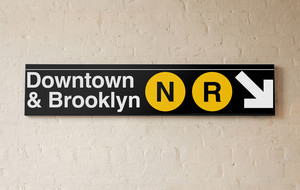 Officially Licensed Subway Signs