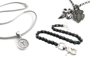 Chain Bracelets and Necklaces