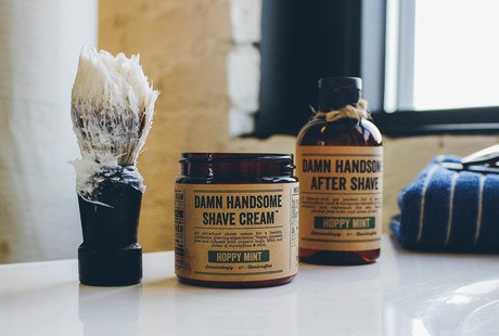 Beer-Infused Grooming Supplies