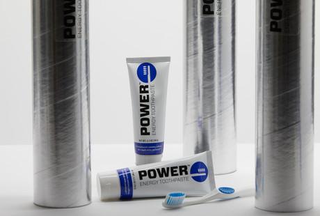 Caffeinated Toothpaste