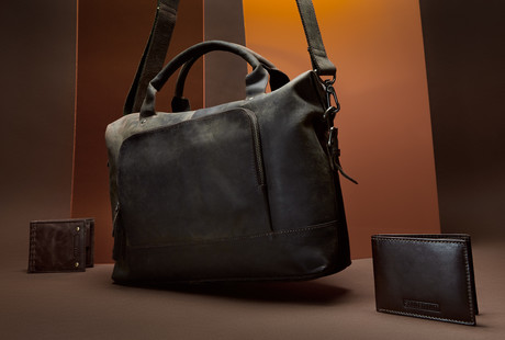 Leather Bags + Wallets