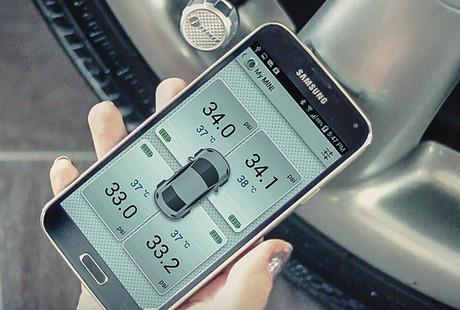 Bluetooth Tire Monitoring