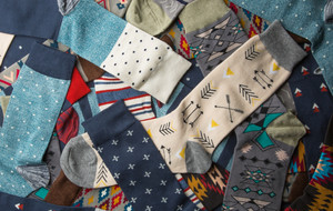 Socks That Make a Statement