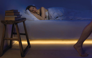 Motion-Activated Bed & Closet Lights