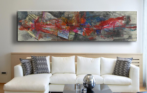 Dazzling Abstract Canvases