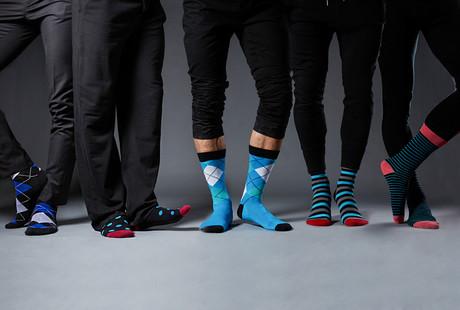 Hand-Linked Socks