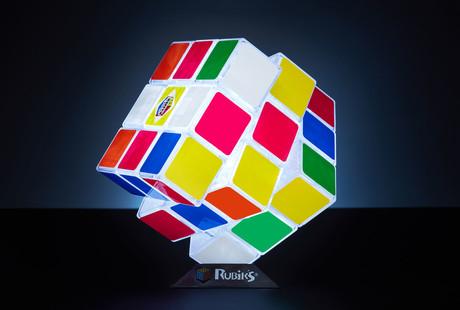 The Oversize Rubik's Cube Light