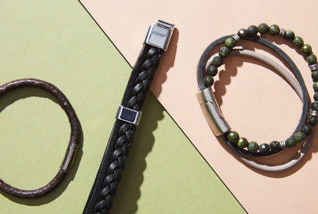 Impressive Leather Bracelets