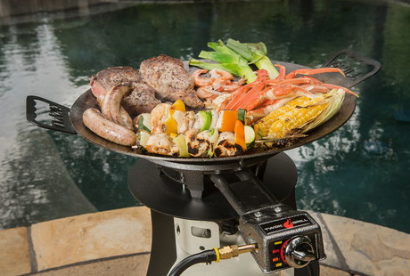 The Wok Barbecue Grill