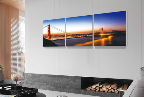 Multi-Panel City And Nature Prints