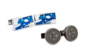Cufflinks + Tie Clips