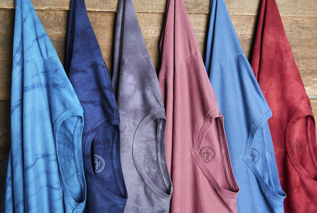 Hand-Dyed Tees in Every Color