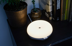 The Gesture-Activated LED Lamp