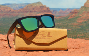 Waterproof Wooden Sunglasses