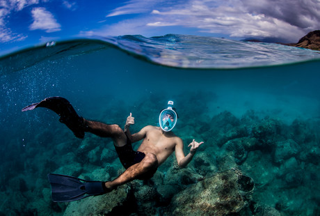Full-Faced Snorkeling Masks