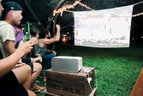 The Mobile Movie Projection System