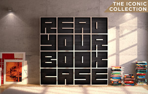 Alphabet Bookcases