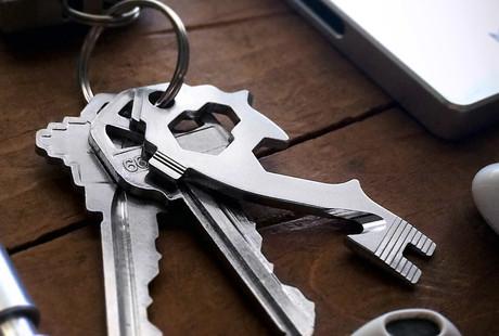 20-In-1 Key-Sized Tool