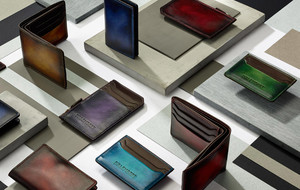 Hand-Painted Leather Wallets