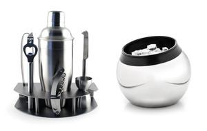 Sleek Stemware + Barware