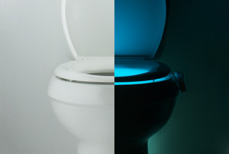 The Motion-Activated Toilet Night Light