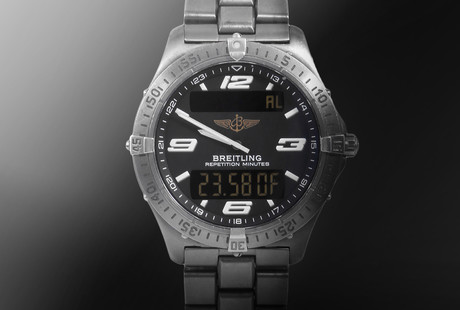 Featuring Breitling + Omega