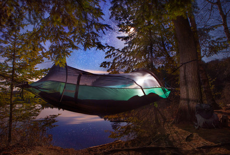 The Original Camper's Tent Hammock