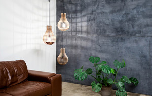 Luxe Wooden Lights