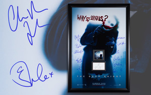 Framed + Autographed Movie Posters