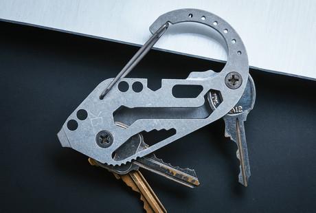 Key Organizer + Carabiner