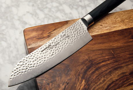Hammered Chef's Knives