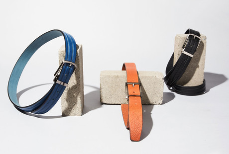 Leather Belts Crafted In Canada