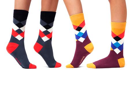 Kaleidoscopic Socks