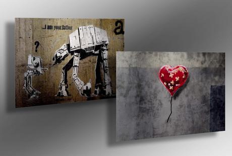 Aluminum Street Art Prints