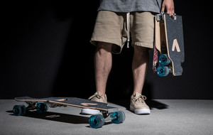 World's First Self-Folding Longboard