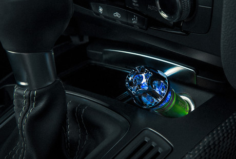 Car Air Purifiers + LED Charging Cables