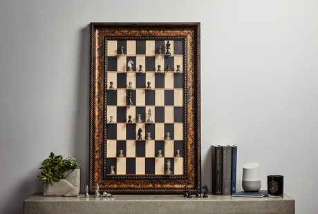 Vertical Chess Sets