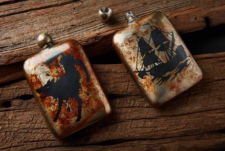 Vintage Styled Flasks