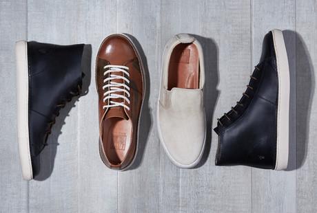 Signature Leather Sneaker