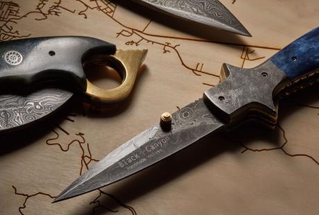 Damascus Folding Knives