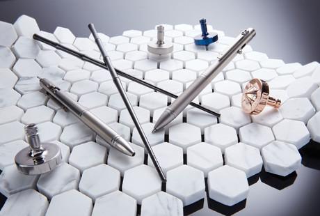 Titanium Desk Gadgets
