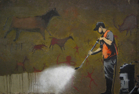 Famous Street Art On Canvas