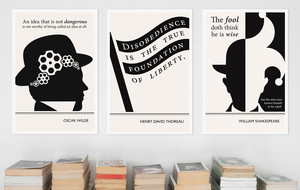 Literary Art Prints