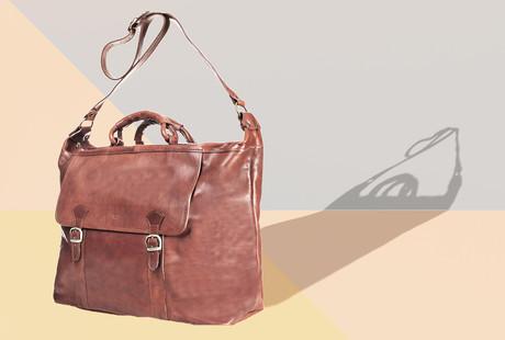 Leather Duffels & Travel Bags