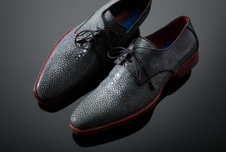 Hand-Painted Dress Shoes