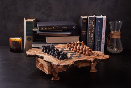Olive Wood Chess Set