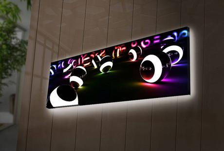 Tech-Enhanced LED Art