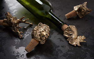 Hand-Finished Bottle Stoppers