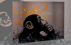 Brushed Aluminum Street Art